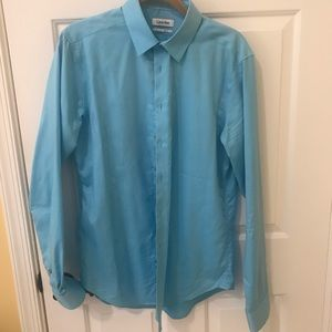 Dress Shirt Calvin Klein slim fit size 16 36/37